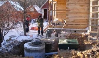 установка канализации в доме